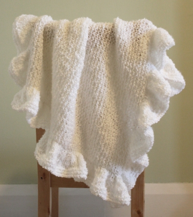 Baby Blankie Jumpercablesknitting