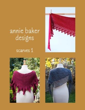 Annie Baker Designs Scarves I